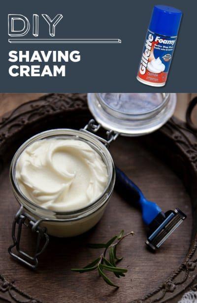 Manteiga de karité, óleo de coco, óleo de jojoba, óleo de alecrim e óleo de menta são os ingredientes que você vai precisar para fazer esse creme de barbear natural. Siga as instruções mostradas aqui.