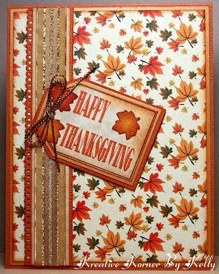 Cardmaking Thanksgiving, Cardmaking 13, Cards Fal, Cards Scrapbook, Cards Holidays, Autumn Cards, Cards Make, Card Making, Cards Mak Creations Ideas