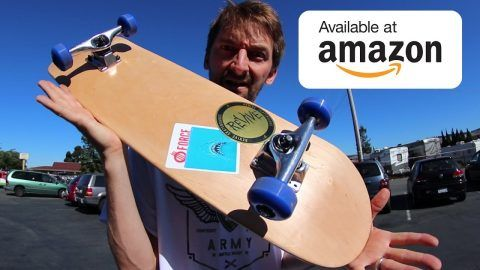 THE $60 AMAZON COMPLETE SKATEBOARD! | CHEAP SKATES EP 10 – Braille Skateboarding: Source: Braille Skateboarding Today we try out a complete…