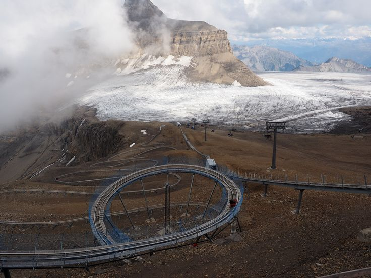https://flic.kr/p/ADLqz4 | Extreme Environments - Diversification of tourist attractions - The 'Alpine Coaster', Glacier 3000, Switzerland