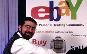 EBay started in 1995 by Pierre Omidyar. Read how he started this company by selling a broken laser pointer for $14 to making billions. >> how to sell on ebay --> http://dropshipgoldmine.com/ebay-the-first-years.html
