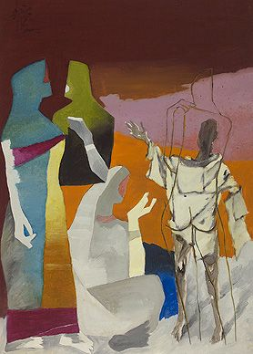 Summer Art Auction (19-20 June): Maqbool Fida Husain, The Other Self, c. 1970s