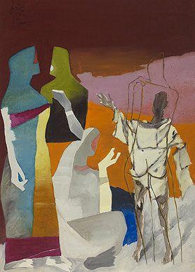 Summer Art Auction (19-20 June): Maqbool Fida Husain, The Other Self, c. 1970s