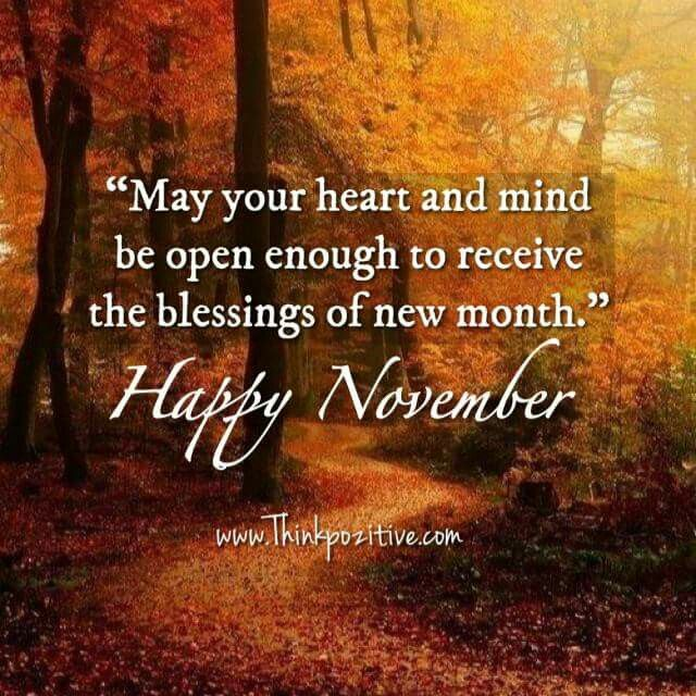 Happy November Quotes | reizenjosschmitz