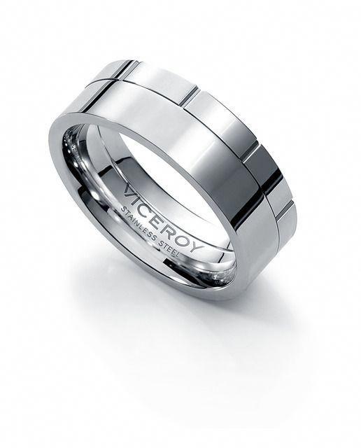 3ea957f99309 Anillo de hombre Viceroy Fashion de acero  Decorar