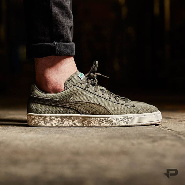 new product f824f 00418 Puma Suede Classic Olive wearpointwindfarm.co.uk