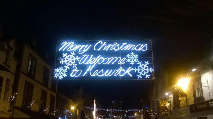 Christmas in keswick