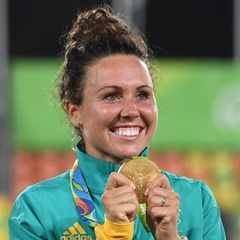 Australia's Chloe Esposito wins Gold in the Women's Olympic Modern Pentathlon