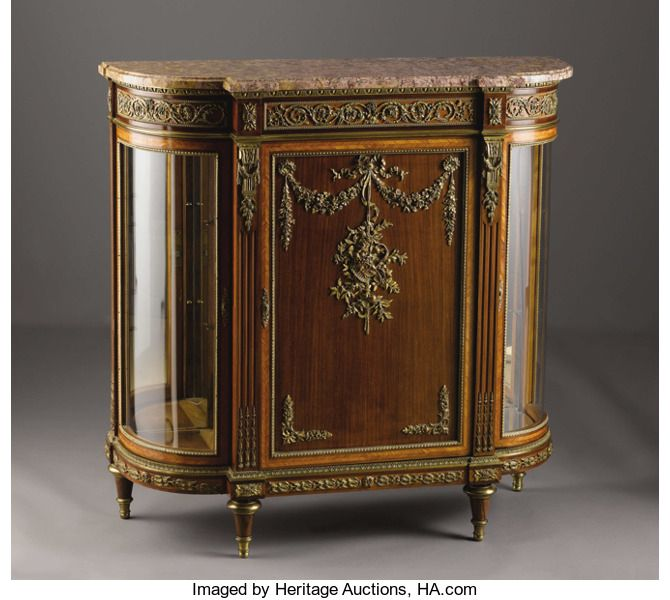 Furniture French A French Louis Xvi Style Meuble D Appui Unknown Maker France Late Nineteenth Century Antique Dining Rooms Louis Xvi Style Carved Furniture
