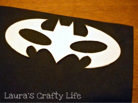 How To: Batman Mask - Laura's Crafty Life