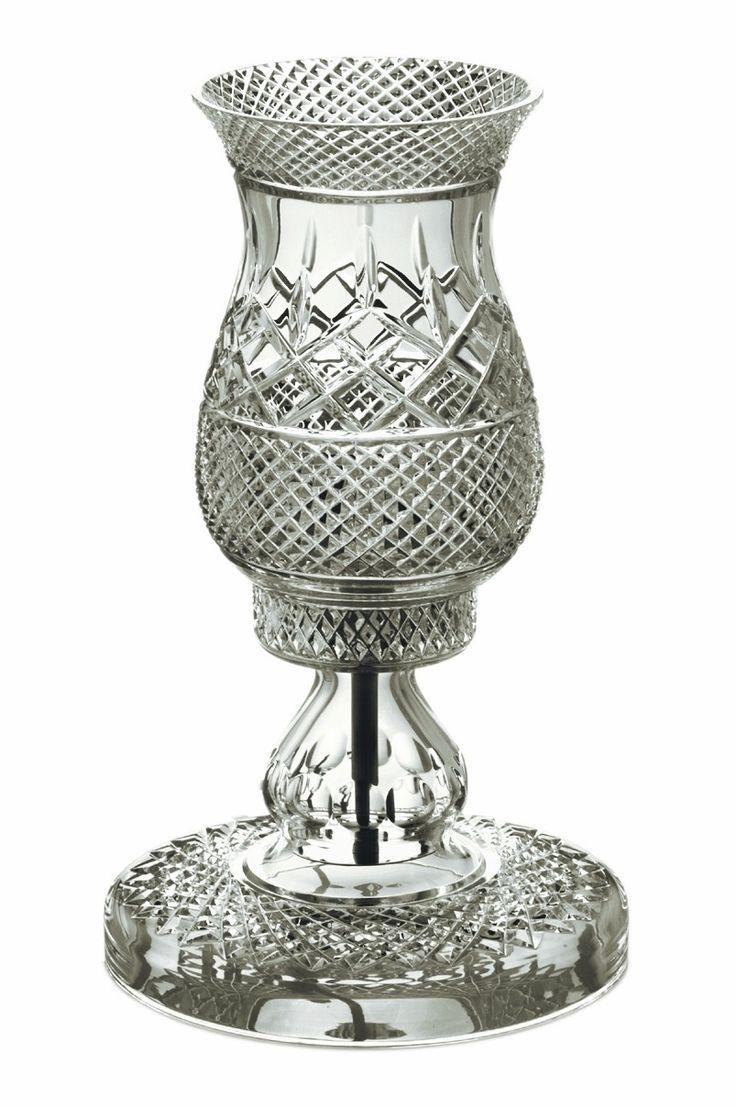 "Lamps Newgrange 15"" - Galway Crystal €395.00"
