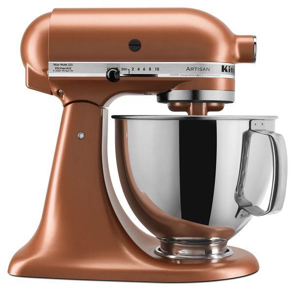 Copper Pearl Artisan Series 5 Quart Tilt Head Stand Mixer Ksm150psce Kitchenaid Kitchenaid Artisan Kitchenaid Artisan Stand Mixer Kitchen Aid Mixer