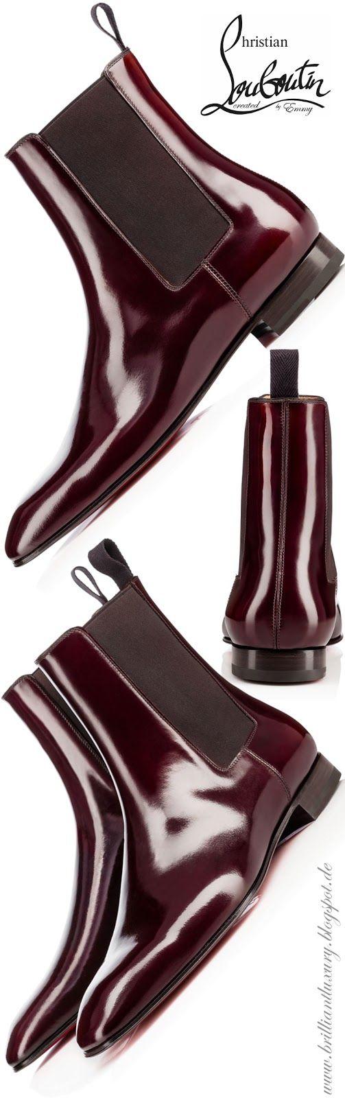 Brilliant Luxury by Emmy DE ♦ Christian Louboutin Roadie Flat