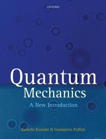 Quantum Mechanics: A New Introduction [With CDROM]. A comprehensive introduction to Quantum Mechanics. Suitable for beginners as well as more advanced university students. Quantum mechanics is presented in a pedagogical fashion with clear logical organization. Various concepts and methods are introduced first in elementary terms and later developed into more precise formulations. Systematic studies of approximation methods + discussion of a wide class of physical applications follow.