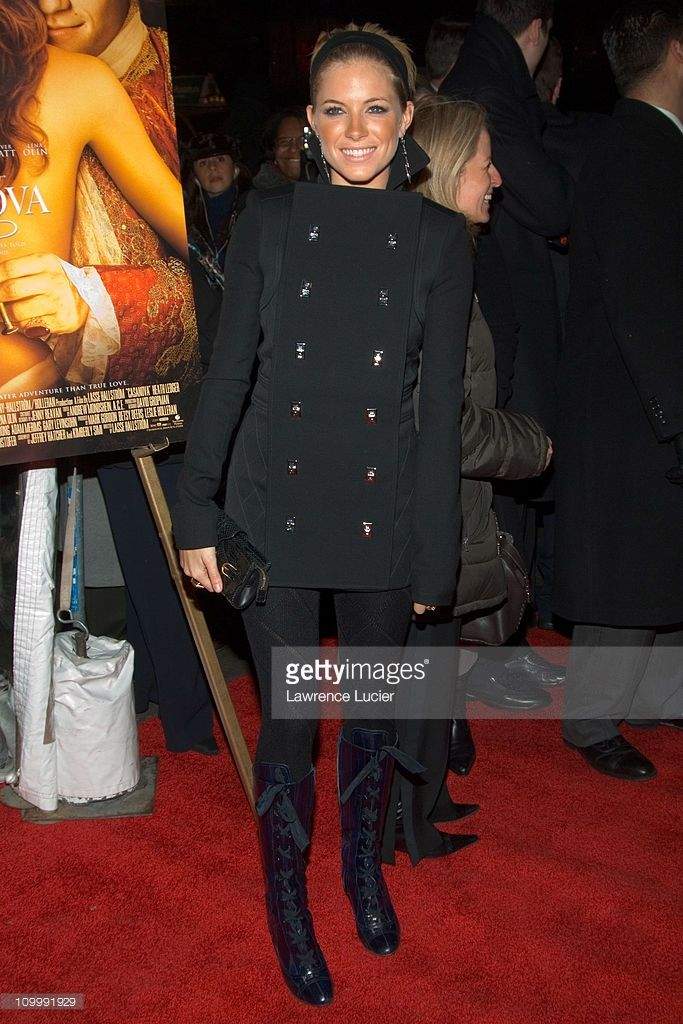 Sienna Miller during Touchstone Pictures' Casanova New York City Premiere - Outside Arrivals at Loews Lincoln Square in New York City, New York, United States.