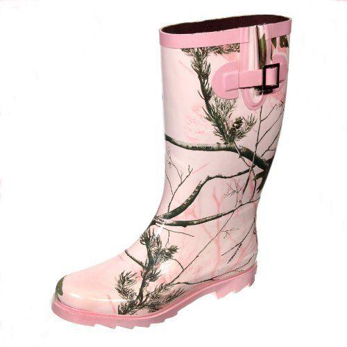 Wonderful Womens Camo Rain Boots  Product Picks
