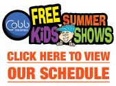 Free movies at Cobb Theatres Find the Clearwater times here: http://www.cobbtheatres.com/pdf/SummerKids2014/Countryside12_2014.pdf