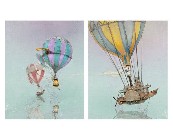 Hot Air Balloons by the Filigree