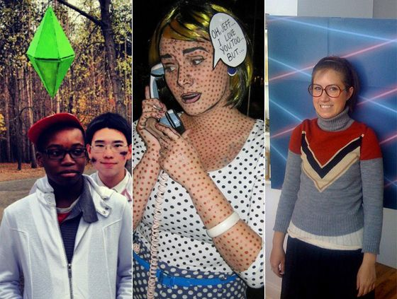 25 creative diy costumes for halloween 2013 - Easy Homemade Halloween Costumes Teens