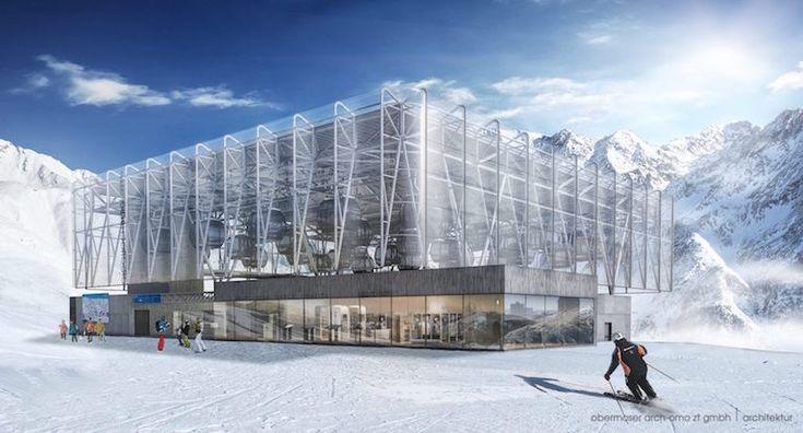 La cabinovia più innovativa al mondo. Sarà attiva a Solden, in Austria, da novembre…
