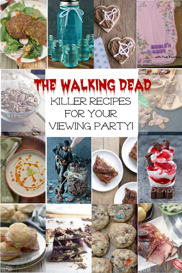 43 best walking dead inspired food ideas images on pinterest food 14 killer recipes for your walking dead viewing party forumfinder Images