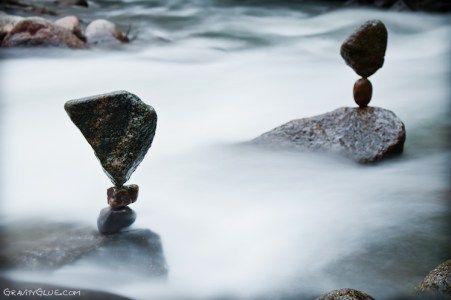 escultura de pedras empilhadas 11