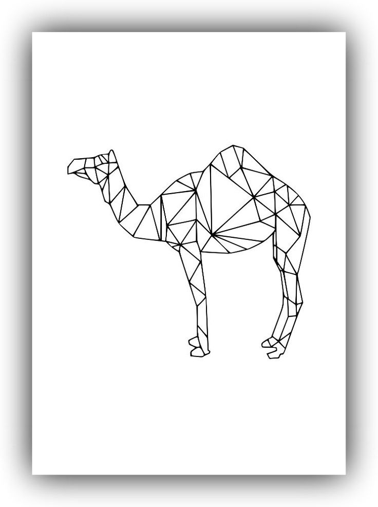 Minimalist Geometric Decor,camel. Minimalist Decor, Black and White*105* #Handmade #PopArt