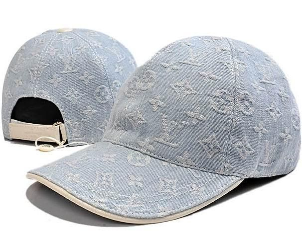 Louis Vuitton Denim Monogram Baseball Cap