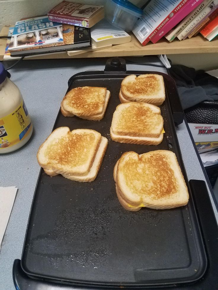 Grilled these 5 beauties for my high school reading students in New Haven. #grilledcheese #food #yum #foodporn #cheese #sandwich #recipe #lunch #foodie