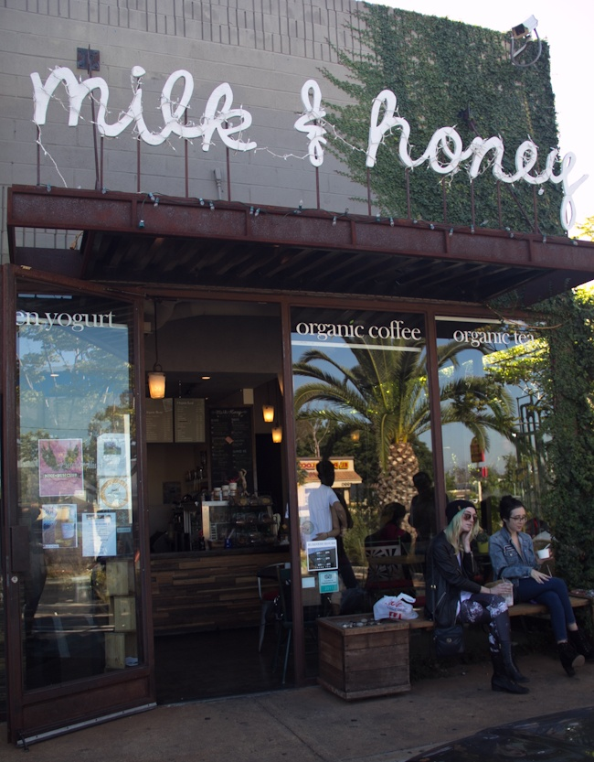 Milk Honey In Costa Mesa Love Lavender Americano Here