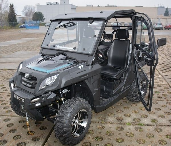 Full cab for farm utility vehicle. For more info: http://www.fresh-group.com/utility-vehicles.html