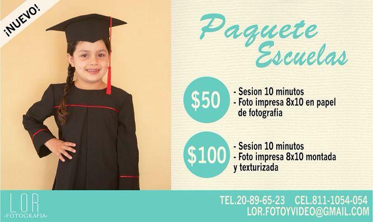 Paquetes de graduación, Monterrey, N.L.