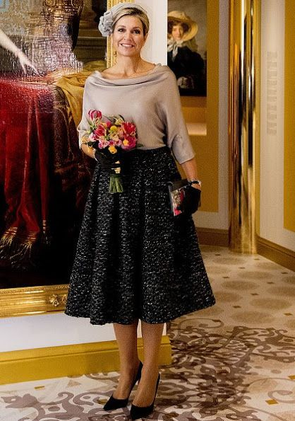 5 October 2016 - Queen Maxima opens Anna Pavlovna Exhibition at Het Loo Palace Museum in Apeldoorn