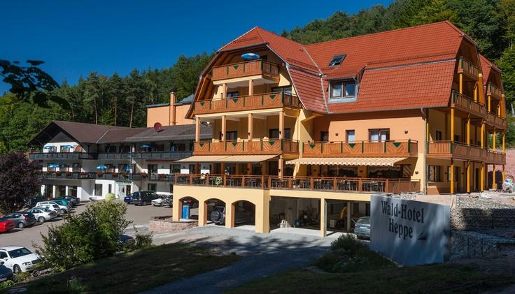 Waldhotel Heppe - Spessart Forest in Germany. www.waldhotelheppe.de