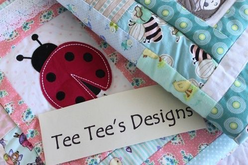 Beautiful Patchwork Quilts for Babies Bedding, Bassinets, Portocots, Cribs and Cots  Tee Tee's Designs on Facebook