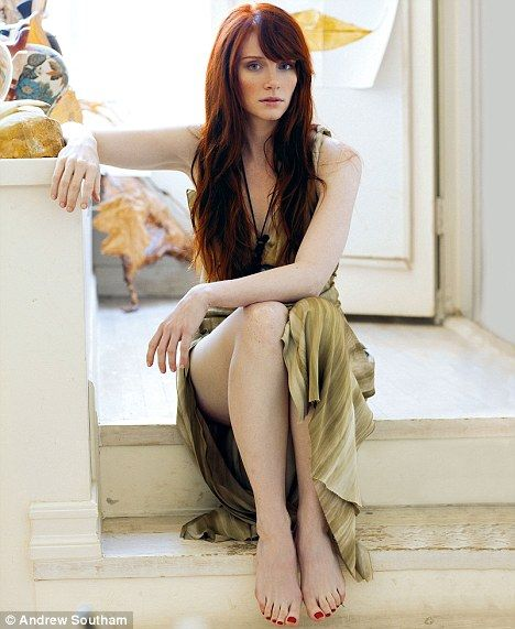 Bryce Dallas Howard. I need my hair to be this color. She is gorgeous.