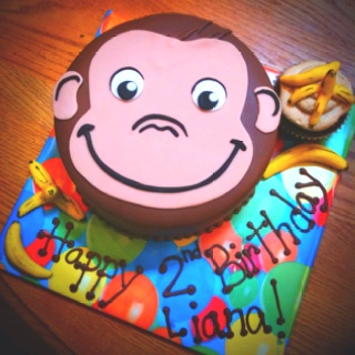 monkey face template for cake - 27 best images about cake ideas on pinterest tractor