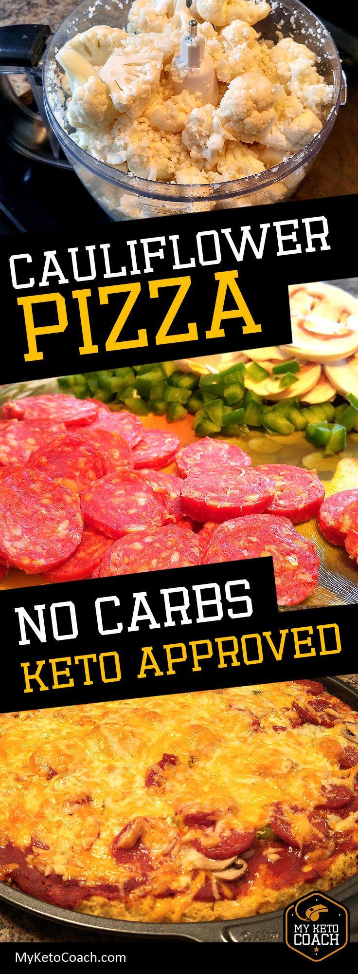 Blue apron cauliflower pizza - Cauliflower Pizza No Carbs Pizza Tastes Amazing It S A Labor Of Love
