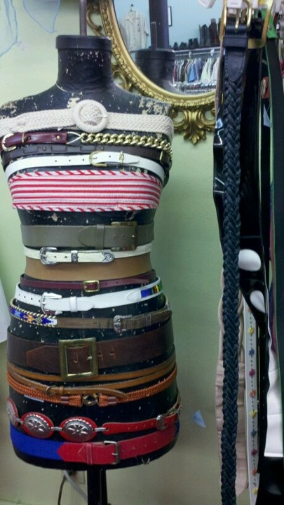 Love the belt display.