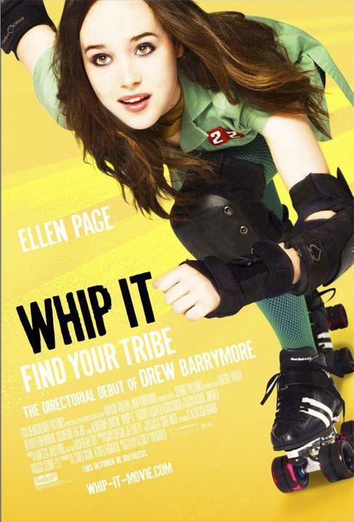 "Whip It Movie Ad - featured Ellen Paige (Derby ""Find Your Tribe"")"