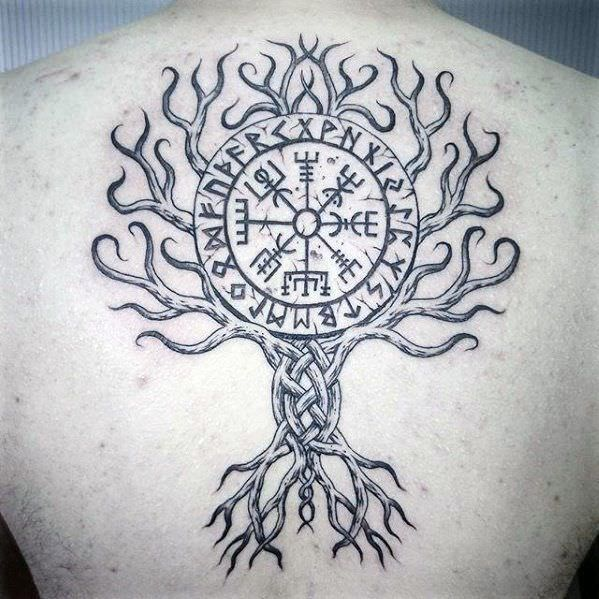 Image result for yggdrasil tattoo