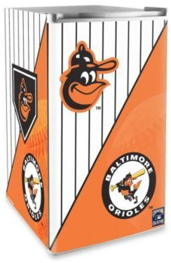MLB Baltimore Orioles Licensed Counter Height Refrigerator