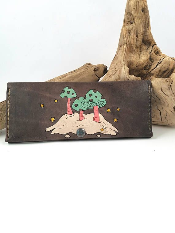 Check out this item in my Etsy shop https://www.etsy.com/ca/listing/554067336/womens-leather-wallet-leather-mushroom