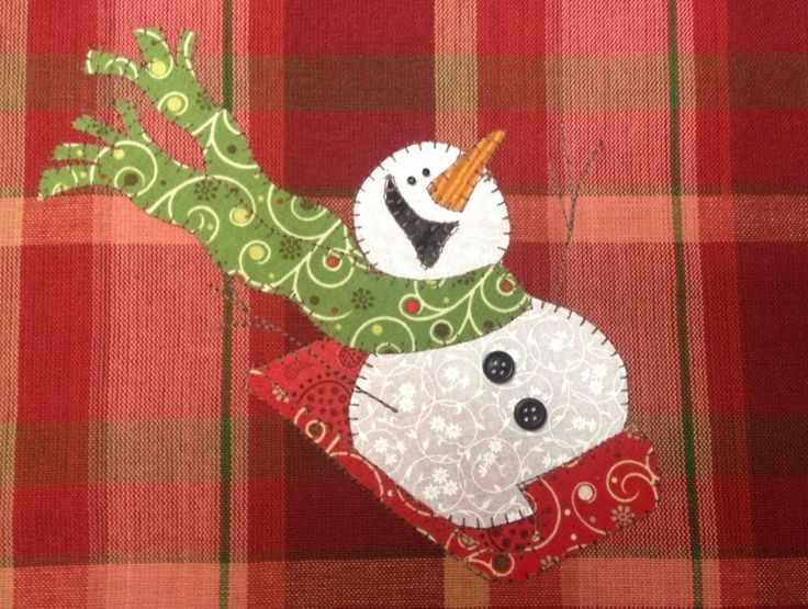 Sledding Fun, A ... by Quilt Doodle | Quilting Pattern - Looking for your next project? You're going to love Sledding Fun, A Really Cute Snowman by designer Quilt Doodle. - via @Craftsy
