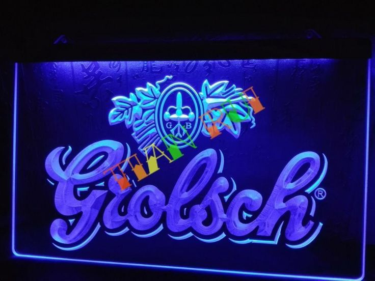 Grolsch Beer Bar Pub Club NEW LED Neon Light Sign home decor crafts