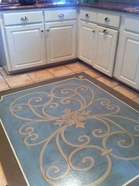 Best 25 Painted Floor Cloths Ideas On Pinterest Floor