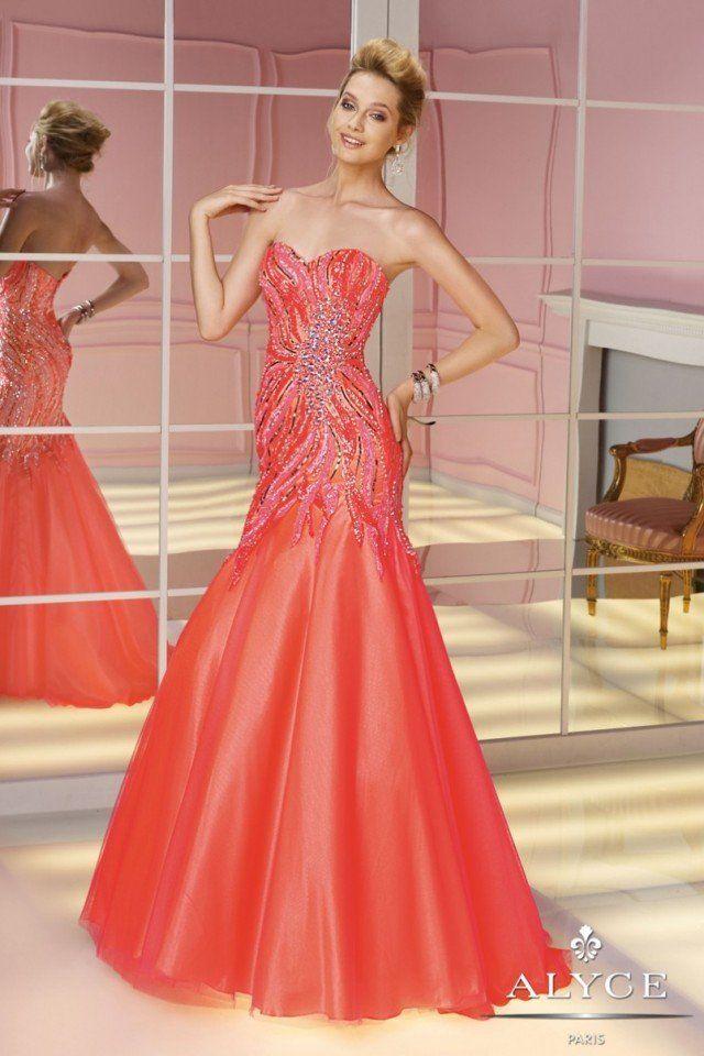 orange western themed prom dresses
