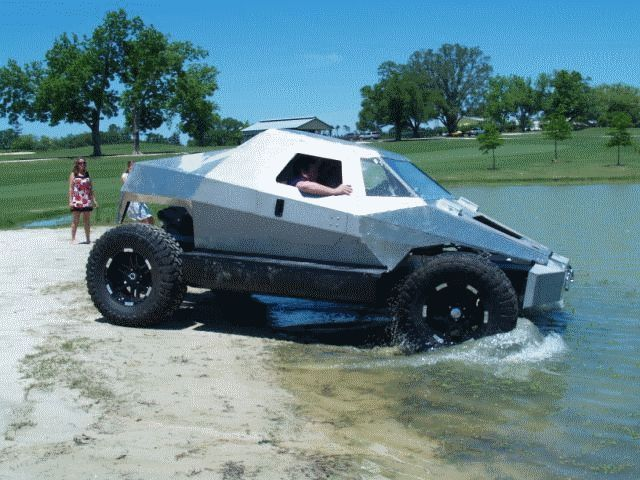 how to make an amphibious car