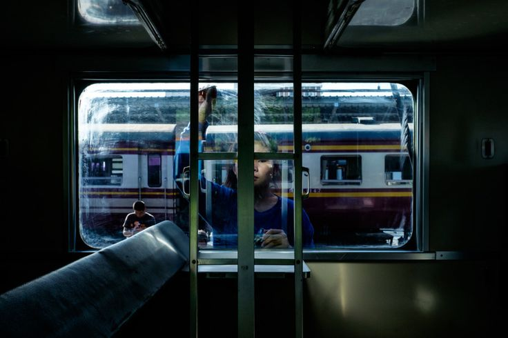 A Bangkok Train Station Never Looked So Film Noir | July 2015, Platform 10 | Credit: Rammy Narula | From Wired.com
