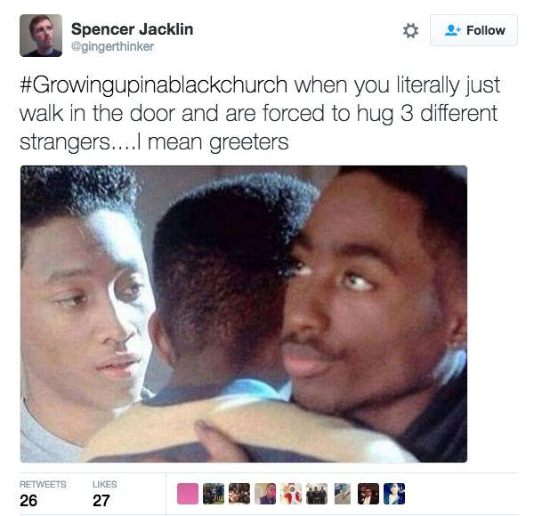 It starts as soon as you walk in the door. | 23 Things Anyone Who's Ever Been To A Black Church Will Immediately Recognize
